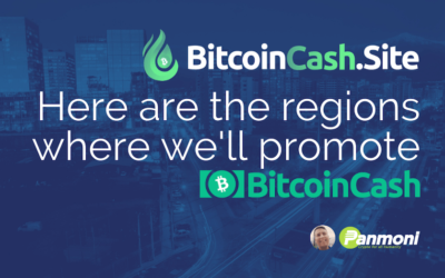 Here are the Countries and Regions We're Focusing on to Promote Bitcoin Cash