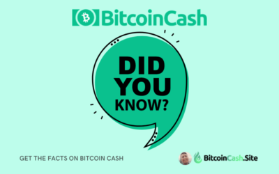 Did you Know? Get the Facts on Bitcoin Cash!