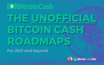 What Bitcoin Cash Developers are Building Right Now: The (Unofficial) Bitcoin Cash BCH 2021 Roadmaps